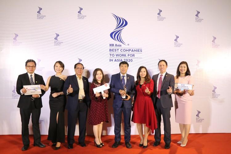 """HDBank, ngân hàng Việt Nam duy nhất 3 năm liền vào danh sách """"Nơi làm việc tốt nhất châu Á"""" ảnh 1"""