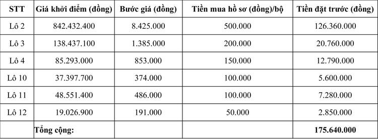 Ngày 20/7/2020, đấu giá Máy móc thiết bị tại tỉnh Ninh Thuận ảnh 2
