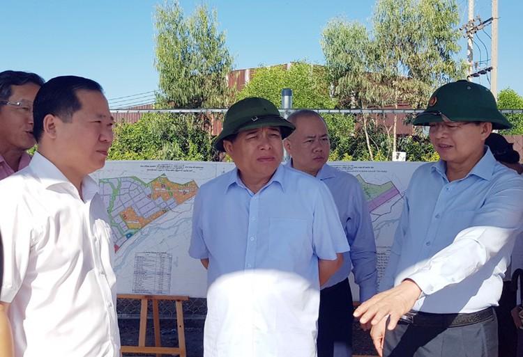 Bộ trưởng Nguyễn Chí Dũng làm việc tại Bình Định: Gợi mở định hướng phát triển bền vững ảnh 2