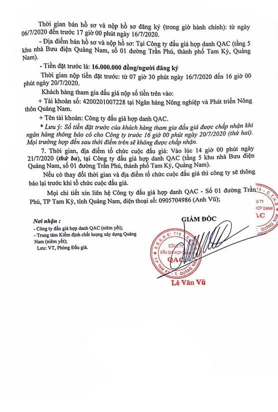 Ngày 21/7/2020, đấu giá xe ô tô Ford tại tỉnh Quảng Nam ảnh 2