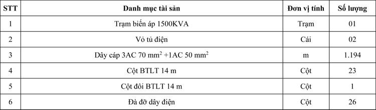 Ngày 16/7/2020, đấu giá Hạng mục cấp điện phục vụ thi công công trình Đường liên cảng Cái Mép – Thị Vải tại tỉnh Bà Rịa – Vũng Tàu ảnh 1