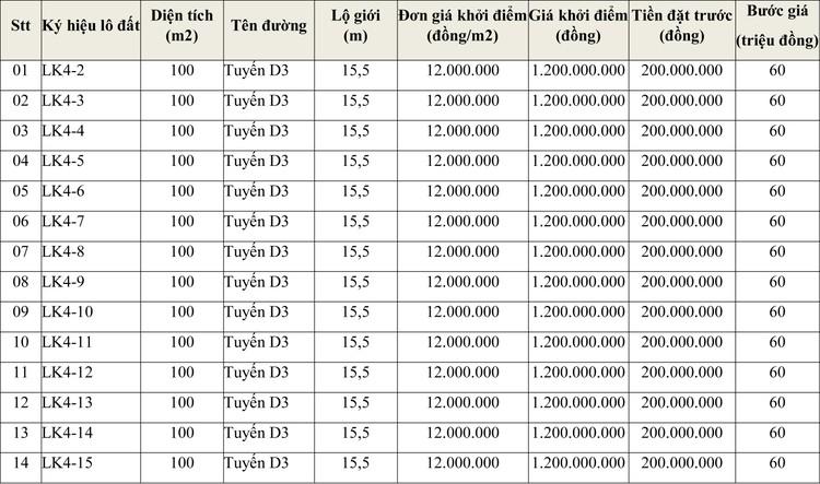 Ngày 6/8/2020, đấu giá quyền sử dụng đất tại thành phố Quy Nhơn, tỉnh Bình Định ảnh 1