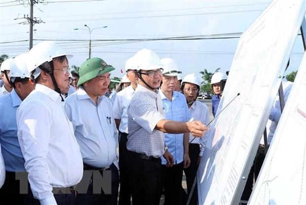 Thủ tướng Nguyễn Xuân Phúc kiểm tra tiến độ Dự án sân bay Long Thành ảnh 1