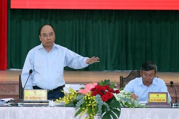 Thủ tướng Nguyễn Xuân Phúc kiểm tra tiến độ Dự án sân bay Long Thành ảnh 2