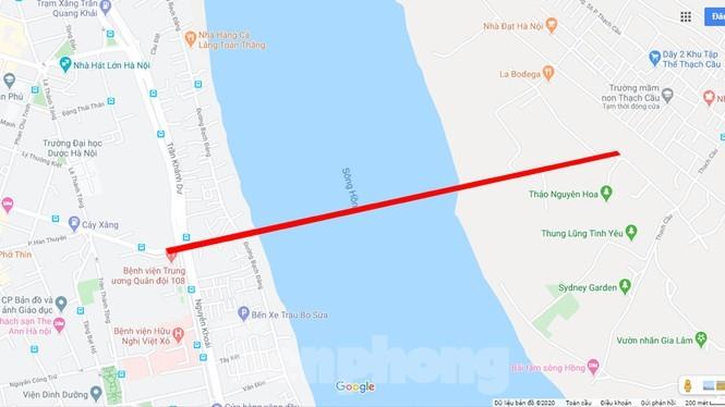 Cận cảnh nơi dự kiến xây dựng cầu Trần Hưng Đạo nối quận Long Biên - Hoàn Kiếm ảnh 7
