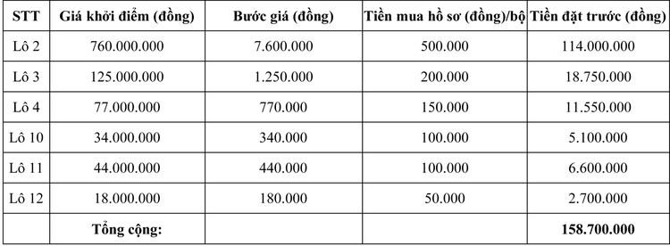 Ngày 7/8/2020, đấu giá Máy móc thiết bị tại tỉnh Ninh Thuận ảnh 2