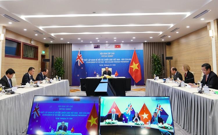 Việt Nam, New Zealand chính thức nâng cấp quan hệ lên Đối tác Chiến lược ảnh 3