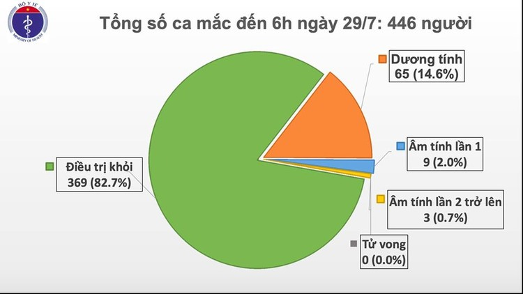 Dịch Covid 19: Thêm 8 ca mắc ở Đà Nẵng, Việt Nam có 446 ca bệnh ảnh 1