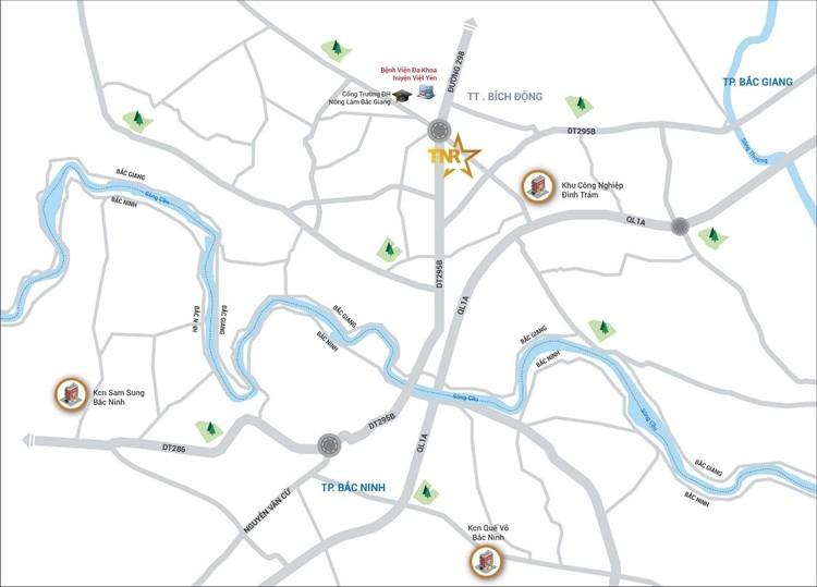 TNR Stars Bích Động giới thiệu 46 căn shophouse đẳng cấp tại thị trường Bắc Giang ảnh 2