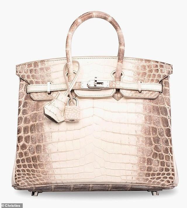 7 tỷ đồng cho một túi xách Hermes làm bằng da cá sấu ảnh 1