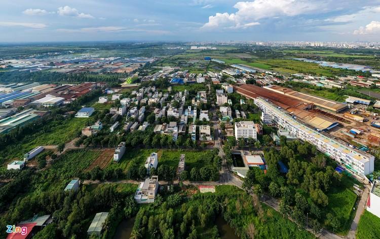 Dự án có 200 nhà xây trái phép ở TP.HCM ảnh 2