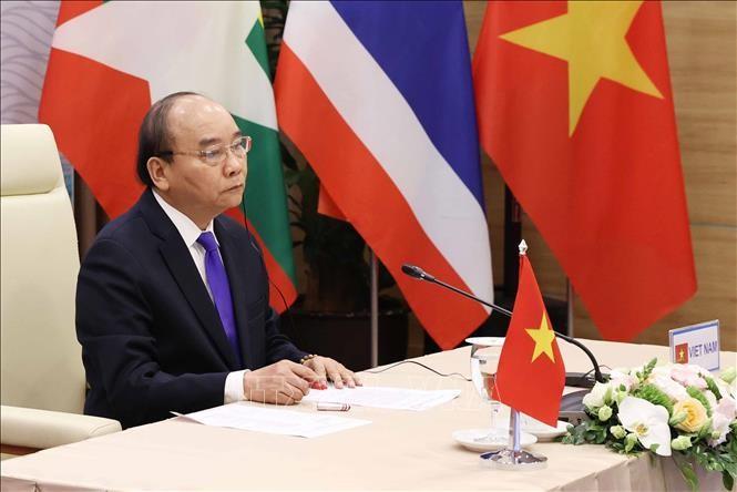 Thủ tướng Nguyễn Xuân Phúc tham dự Hội nghị Cấp cao Hợp tác Mekong - Lan Thương lần thứ ba ảnh 2