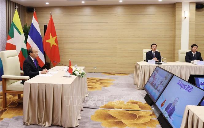 Thủ tướng Nguyễn Xuân Phúc tham dự Hội nghị Cấp cao Hợp tác Mekong - Lan Thương lần thứ ba ảnh 3