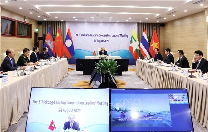 Thủ tướng Nguyễn Xuân Phúc tham dự Hội nghị Cấp cao Hợp tác Mekong - Lan Thương lần thứ ba ảnh 4