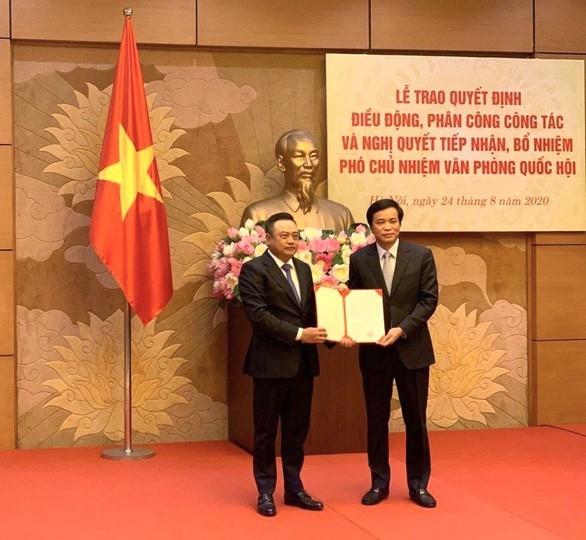 Ông Trần Sỹ Thanh giữ chức Phó Chủ nhiệm Văn phòng Quốc hội ảnh 1