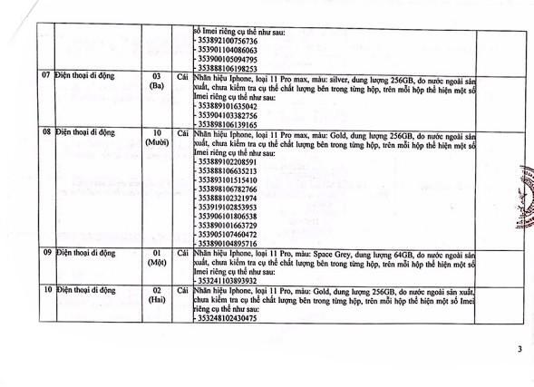 Ngày 25/9/2020, đấu giá tài sản tịch thu sung quỹ tại thành phố Đà Nẵng ảnh 3