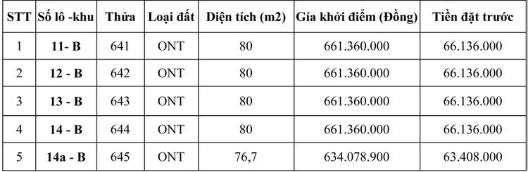 Ngày 6/10/2020, đấu giá quyền sử dụng đất tại huyện Bến Lức, tỉnh Long An ảnh 1