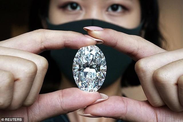 Sắp bán đấu giá viên kim cương to bằng quả trứng, có thể thu về 30 triệu USD ảnh 2