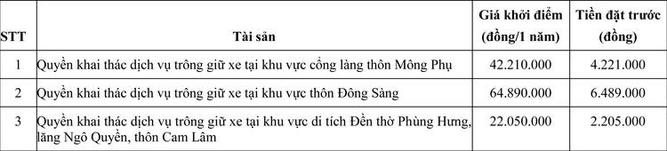 Ngày 2/10/2020, đấu giá quyền khai thác dịch vụ trông giữ xe tại Hà Nội ảnh 2
