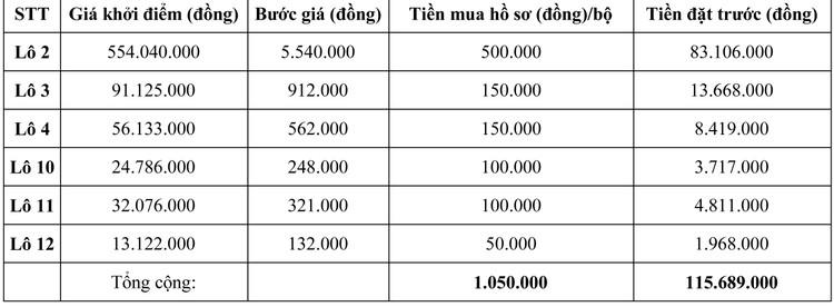 Ngày 30/9/2020, đấu giá Máy móc thiết bị tại tỉnh Ninh Thuận ảnh 2