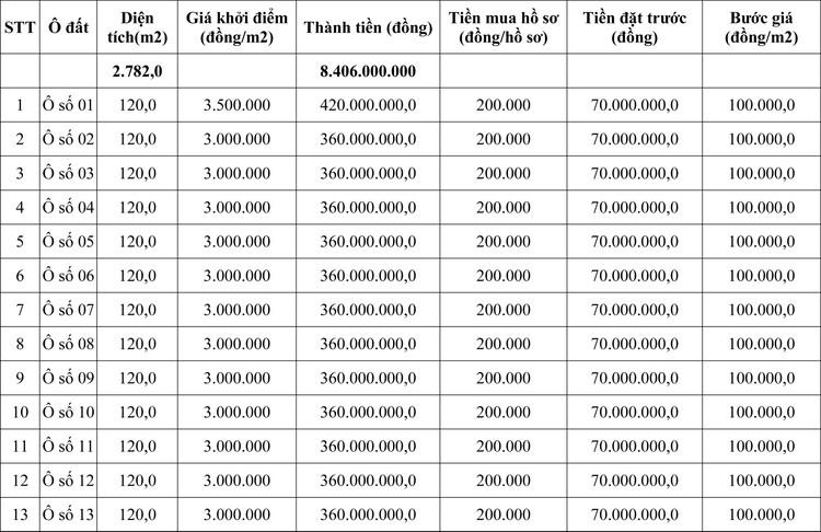 Ngày 10/10/2020, đấu giá quyền sử dụng đất tại huyện Tam Nông, tỉnh Phú Thọ ảnh 1