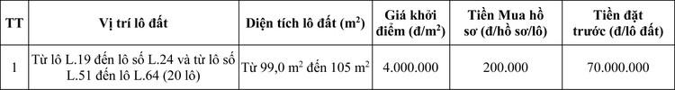 Ngày 10/10/2020, đấu giá quyền sử dụng đất tại huyện Nam Sách, tỉnh Hải Dương ảnh 1