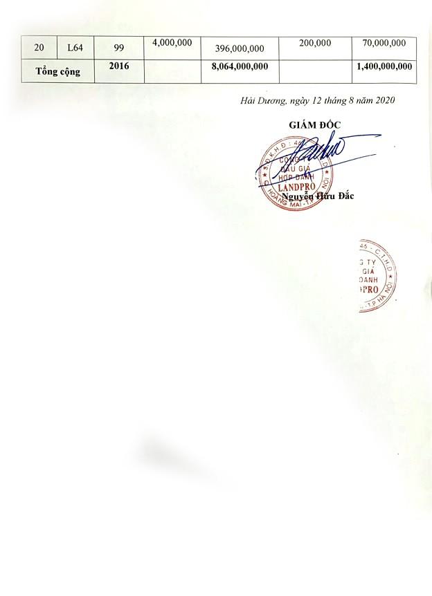 Ngày 10/10/2020, đấu giá quyền sử dụng đất tại huyện Nam Sách, tỉnh Hải Dương ảnh 3