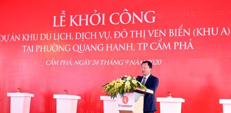 Vingroup khởi công Khu du lịch, dịch vụ, đô thị ven biển Quang Hanh ảnh 1
