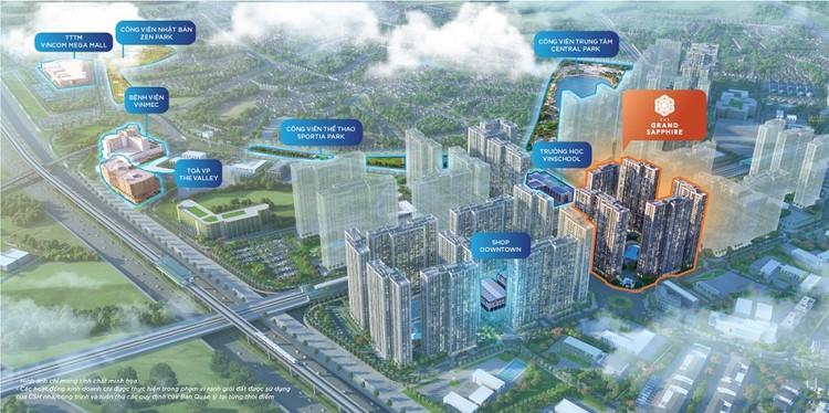 Vinhomes Smart City chính thức ra mắt phân khu đắt giá The Grand Sapphire ảnh 1