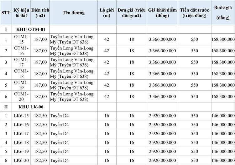 Ngày 30/10/2020, đấu giá quyền sử dụng đất tại thành phố Quy Nhơn, tỉnh Bình Định ảnh 1