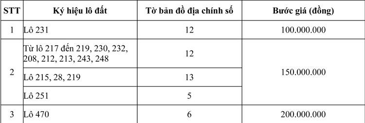 Ngày 24/10/2020, đấu giá quyền sử dụng đất tại thị xã Hương Thủy, tỉnh Thừa Thiên Huế ảnh 4