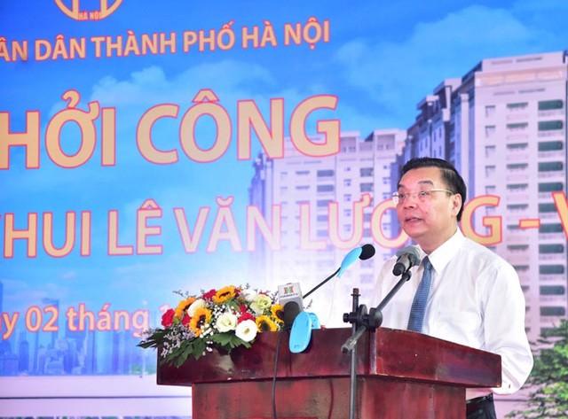 Hà Nội khởi công hầm chui gần 700 tỷ qua nút giao Lê Văn Lương - Vành đai 3 ảnh 1