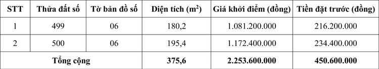 Ngày 28/10/2020, đấu giá quyền sử dụng đất tại huyện Đăk Rlấp, tỉnh Đăk Nông ảnh 1