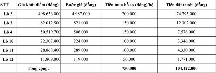 Ngày 22/10/2020, đấu giá Máy móc thiết bị của tại tỉnh Ninh Thuận ảnh 2