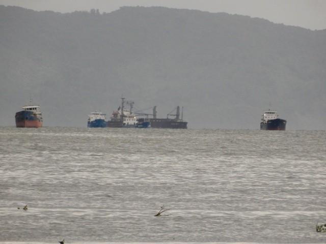 3 tàu hàng cùng 38 thuyền viên đang mắc cạn trên biển ảnh 1