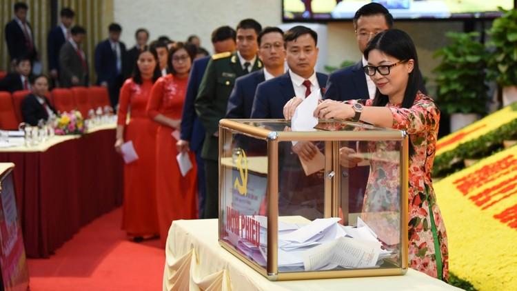 Bà Nguyễn Thanh Hải tái đắc cử Bí thư Tỉnh ủy Thái Nguyên ảnh 1
