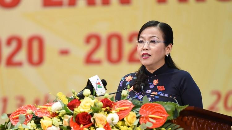 Bà Nguyễn Thanh Hải tái đắc cử Bí thư Tỉnh ủy Thái Nguyên ảnh 2