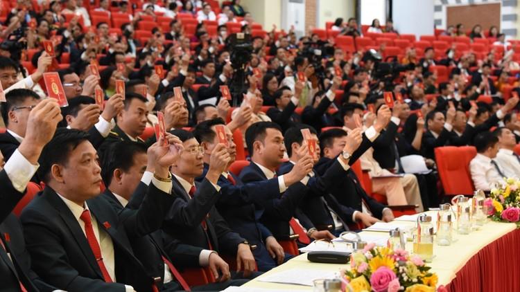 Bà Nguyễn Thanh Hải tái đắc cử Bí thư Tỉnh ủy Thái Nguyên ảnh 3