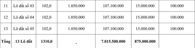 Ngày 5/11/2020, đấu giá quyền sử dụng đất tại huyện Bá Thước, tỉnh Thanh Hóa ảnh 2