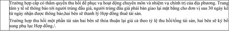 Ngày 6/11/2020, đấu giá cho thuê mặt bằng tại Trung tâm Y tế thị xã Từ Sơn, tỉnh Bắc Ninh ảnh 3