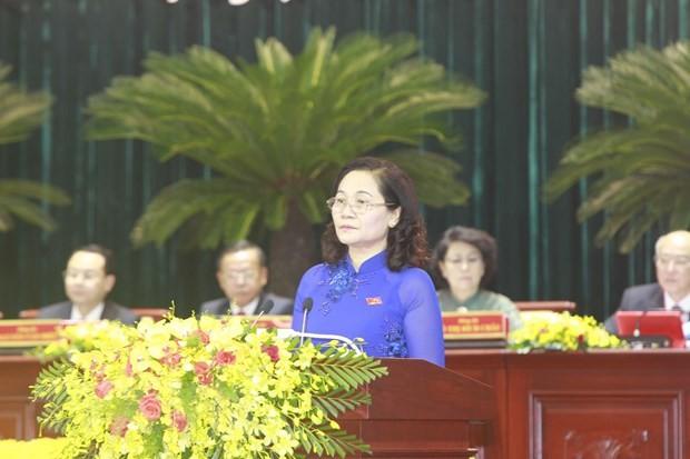 Ông Nguyễn Văn Nên được bầu giữ chức Bí thư Thành ủy TP.HCM ảnh 2