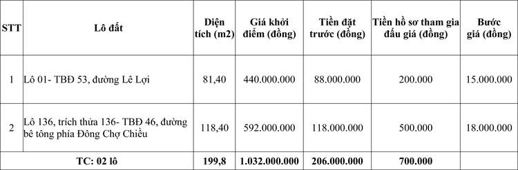 Ngày 6/11/2020, đấu giá quyền sử dụng đất tại huyện Phù Cát, tỉnh Bình Định ảnh 1