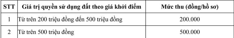 Ngày 19/11/2020, đấu giá quyền sử dụng đất tại thành phố Long Xuyên, tỉnh An Giang ảnh 1