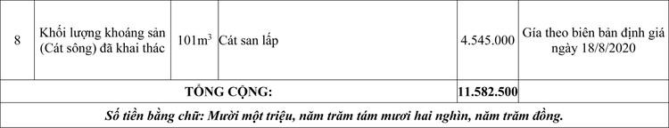 Ngày 2/11/2020, đấu giá tang vật, phương tiện vi phạm hành chính tại tỉnh An Giang ảnh 2