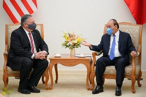 Thủ tướng tiếp Ngoại trưởng Hoa Kỳ Michael Pompeo ảnh 1