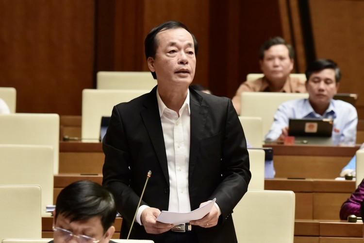 Phó Thủ tướng và các Bộ trưởng trả lời chất vấn ảnh 6