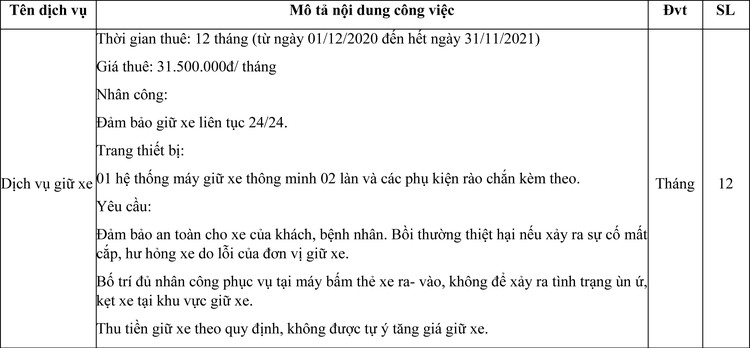 Ngày 30/11/2020, đấu giá quyền quản lý, khai thác nhà giữ xe tại Trung Tâm y tế Thị xã Bình Long, tỉnh Bình Phước ảnh 1