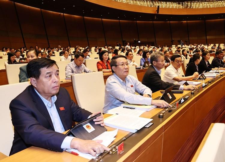 Quốc hội thông qua nghị quyết tổ chức chính quyền đô thị tại TP.HCM ảnh 1