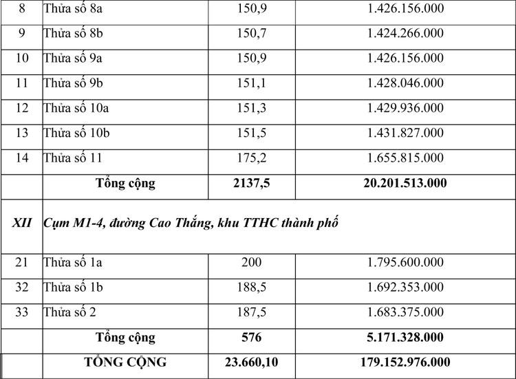 Ngày 11/12/2020, đấu giá quyền sử dụng đất tại thành phố Đồng Xoài, tỉnh Bình Phước ảnh 8