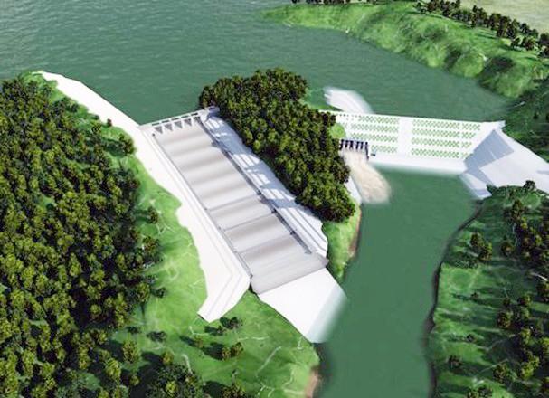 Dự án Hồ chứa nước Bản Mồng bị ảnh hưởng vì chậm tiến độ đập phụ ảnh 1